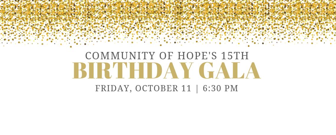 15th Birthday Gala